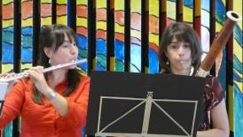 Duo Almira en Martins Schule